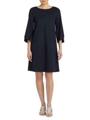 Buy Lafayette 148 New York Fabiana Three-Quarter A-Line Dress online with Australia wide shipping