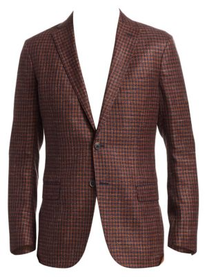 COLLECTION Wool Houndstooth Sportcoat