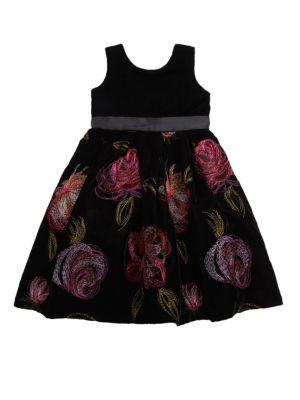 Toddler's & Little Girl's Floral Dress