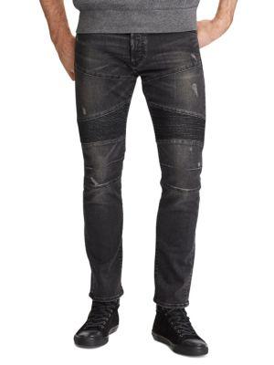 Stretch Slim Moto Jeans 0400095681329