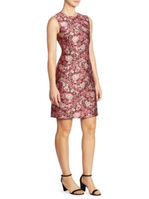 Buy Adam Lippes Floral Fitted Dress online with Australia wide shipping
