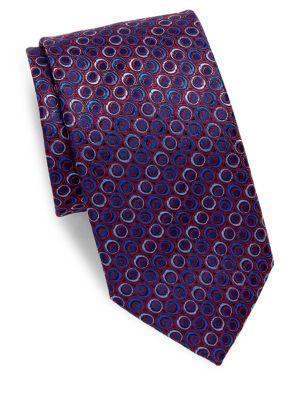 Ring Silk Tie
