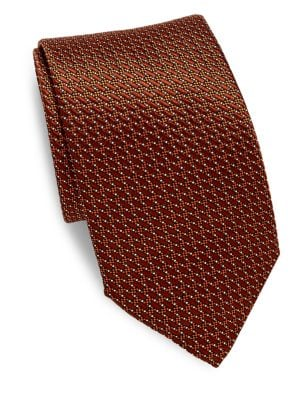 Criss-Cross Silk Tie