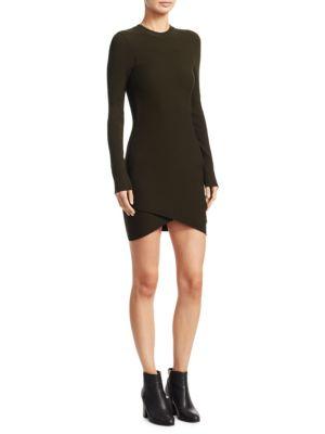 Lara Long Sleeve Knit Dress