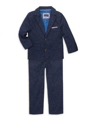 Little Boy's Speckled Suit