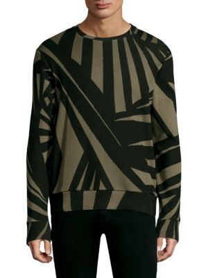 Knit Pullover Army Sweater