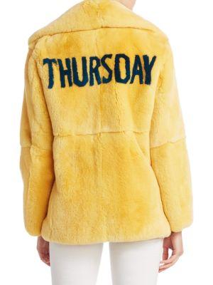 Fur Thursday Jacket