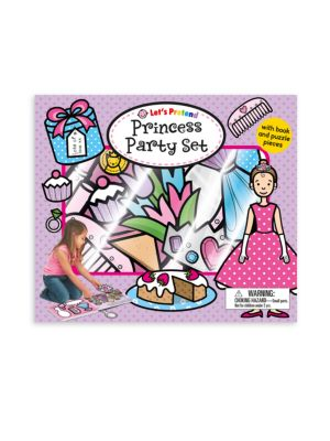 Let's Pretend Princess Party Set Book