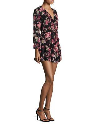 Joada Silk Mini Dress