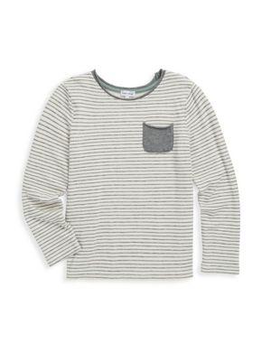 Little Boy's Stripe Print Tee