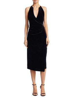 Belecia V-Neck Wrap Dress