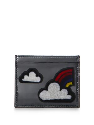 Clouds Leather Card Case
