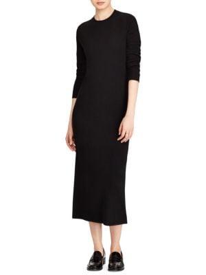 Long Cashmere Dress
