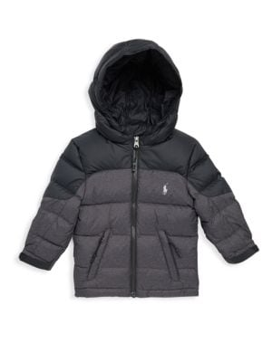 Baby's Two-Tone Puffer Jacket