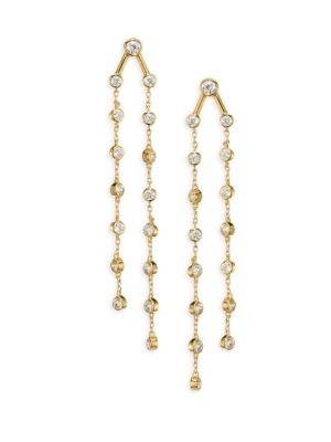 Rosella Chain Drop Earrings