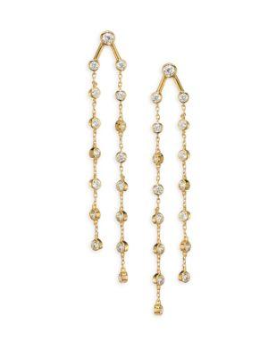 Rosella Chain Drop Earrings