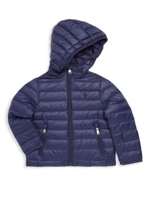 Toddler's, Little Boy's & Boy's Packable Down Jacket
