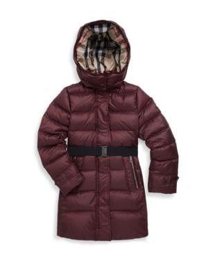 Little Girl's & Girl's Mini Dalesford Puffer Jacket