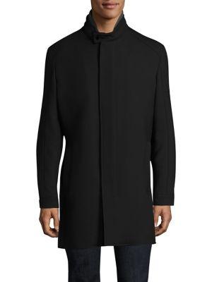 STRELLSON Zamora Stand-Collar Raincoat