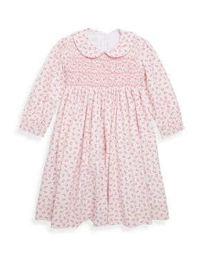 Toddler's & Little Girl's Lucy Cotton Dress