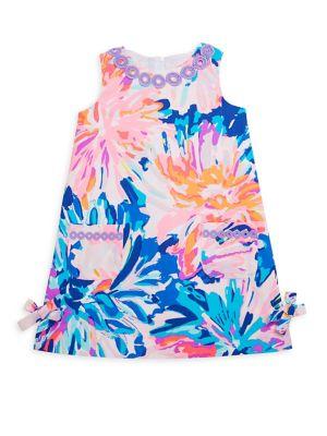 Toddler's, Little Girl's & Girl's Cotton Shift Dress