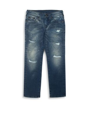 Toddler's, Little Boy's & Boy's Geno Slim-Fit Single End Jeans