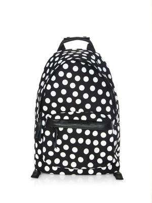 Printed Dots Backpack