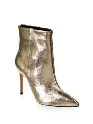 Ginny Leather Booties