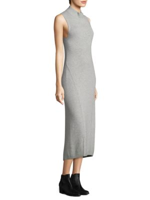 Ace Slim-Fit Cashmere Midi Dress
