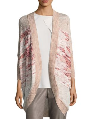 Ombre Jacquard Cardigan