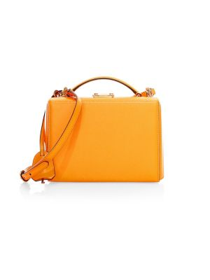 Grace Small Box Leather Shoulder Bag