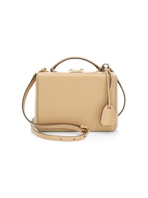 Grace Small Box Leather Crossbody Bag