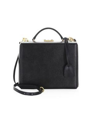 Large Grace Leather Box Bag