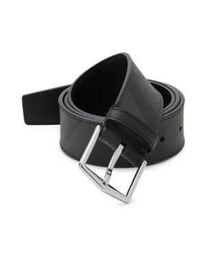Joe Plaid Belt