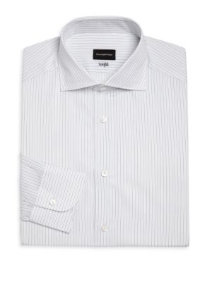 Centofili Striped Cotton Dress Shirt