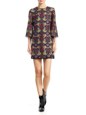 Buy Alice + Olivia Coley Crewneck Dress online with Australia wide shipping