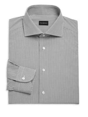 Mini Check Button-Down