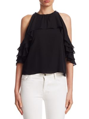 Idalla Cold Shoulder Blouse