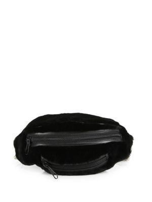 Primary Fur Fanny Pack