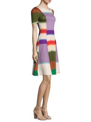 Striped Colorblock Dress