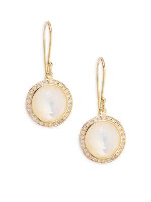 Lollipop® Mini Diamond & Mother-Of-Pearl Lollitini Earrings
