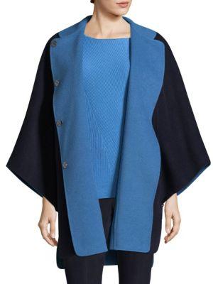 Doubleface Angora Cashmere Reversible Jacket