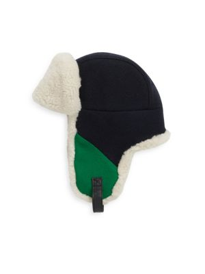 CROWN CAP Colorblock Winter Hat