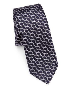 Rope Print Tie