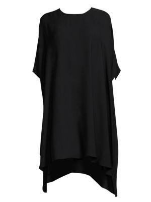 Georgette Drape Dress