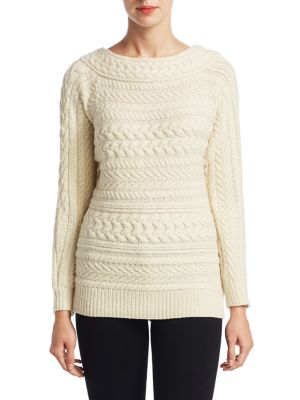Arch Cable-Knit Cashmere Sweater