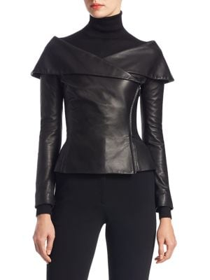 Collection Apparel Maxine Nappa Leather Jacket