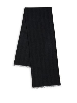 Stripe Cashmere Scarf