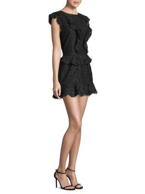 Acostas Ruffle Detail Sleeve Dress