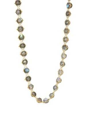 AMALI Labradorite & 18K Yellow Gold Necklace